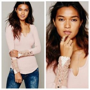 Free People We The Free Kyoto Cuff Thermal Blush